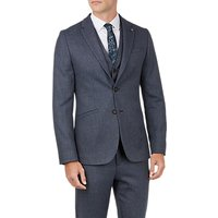 Ted Baker Bufalo Twill Jacket, Blue Mid