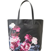 shop for Joules Revery Floral Print Tote Bag, Black/Multi at Shopo