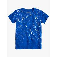 crewcuts by J.Crew Boys' Splatter T-Shirt, Lagoon Blue