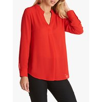 Betty Barclay V-neck Blouse, Hibiscus Red