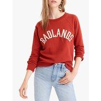 J.Crew Badlands Sweatshirt, Brick Red