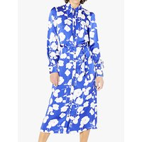 Ghost Irina Dress, Block Print Fleurs
