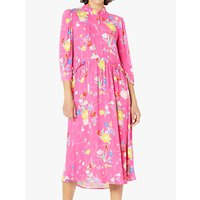 Ghost Polly Dress, Penny Lane Pink