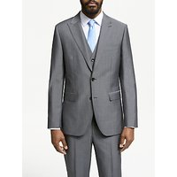 John Lewis and Partners Italian Wool Mohair Suit Jacket, Silver