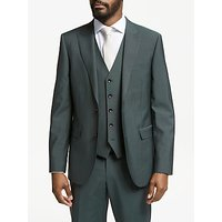 John Lewis and Partners Italian Wool Mohair Suit Jacket, Sage