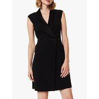Karen Millen Tuxedo Double-Breasted Dress, Black