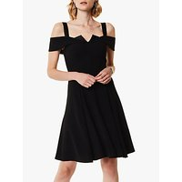 Karen Millen Cold-Shoulder Dress, Black
