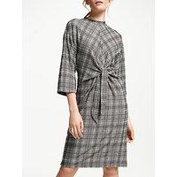 Numph Emeny Jersey Dress, Grey Check