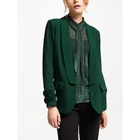 Numph Estefania Shawl Collar Blazer Jacket, Pine Grove