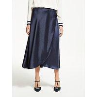 Boden Epsom Midi Skirt, Navy