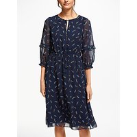 Boden Iona Midi Dress, Navy