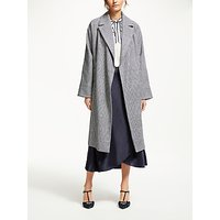Boden Lindfield Wrap Coat, Hotch Potch Check