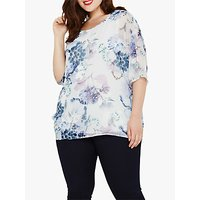 Studio 8 Lynnie Printed Blouse, Grey Multi