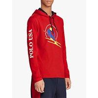 Polo Ralph Lauren Ski Hooded T-Shirt, Red