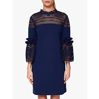 Ted Baker Cut Out Panel Lucila Tunic Dress, Navy