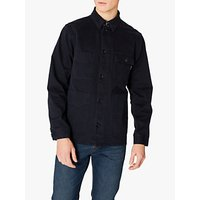 PS Paul Smith Chore Cotton Shirt Jacket, Navy