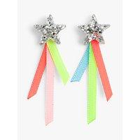 crewcuts by J.Crew Girls' Shooting Star Stud Earrings, Rainbow