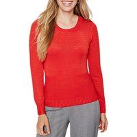 Damsel in a Dress Multi Knitted Jumper, Red