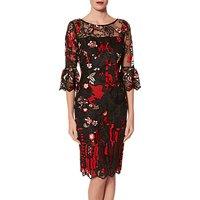 shop for Gina Bacconi Marcella Dress, Black at Shopo
