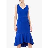 Adrianna Papell Fluted Sheath Dress, Cyprus Blue