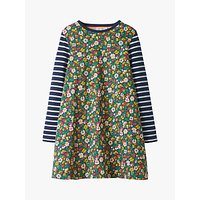 Mini Boden Girls' Jersey Swing Dress, Green
