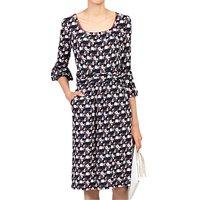 shop for Jolie Moi Balloon Sleeve Dress, Black/Multi at Shopo
