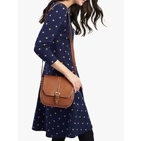 Joules Shay Printed Jersey Dress, Navy Corn