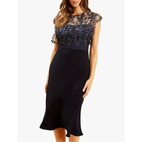 Fenn Wright Manson Petite Jayne Dress, Navy
