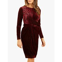 Fenn Wright Manson Petite Ruby Dress, Magenta Combo