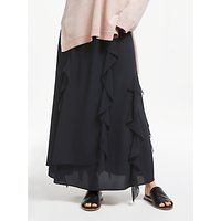 Modern Rarity Ruffle Maxi Skirt, Black