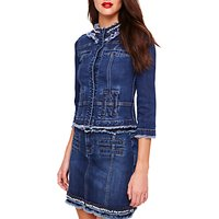 Damsel in a Dress Jorja Denim Jacket, Blue