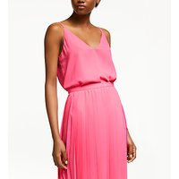 John Lewis & Partners Double Layer Georgette Cami Top