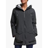Haglöfs Torsång Womens Waterproof Parka Jacket, True Black