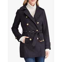 Lauren Ralph Lauren Belted Trench Coat, Navy