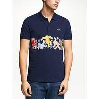 Lacoste x Keith Haring Printed Band Polo Shirt