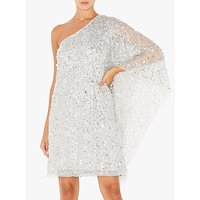 Adrianna Papell Short Beaded Kaftan Dress