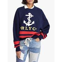 Polo Ralph Lauren Anchor Sweatshirt, Cruise Navy