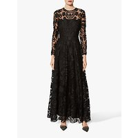 Gina Bacconi Cesaria Maxi Dress, Black