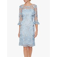 Gina Bacconi Evonne Lace Dress, Blue