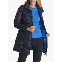 Betty Barclay Quilted Down Jacket, Dark Sapphire