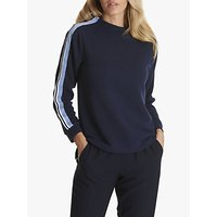 Betty Barclay Ribbed Sporting Jersey Top, Night Sky