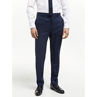 Ted Baker Bagel Birdseye Tailored Suit Trousers, Navy