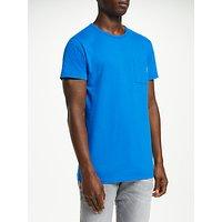Scotch and Soda Classic Cotton Crew Neck T-Shirt, Altitude Blue