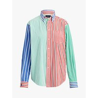 Polo Ralph Lauren Long Sleeve Multi Stripe Shirt, Multi