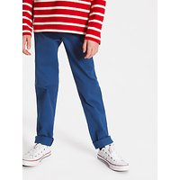 John Lewis and Partners Boys Chino Trousers, Blue