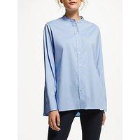 Winser London Poplin Shirt, Blue