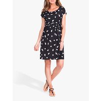 Séraphine Priya Floral Maternity Dress, Black