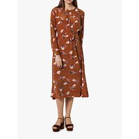 L.K.Bennett Yadis Abstract Blossom Print Dress, Pri-Rust/Multi