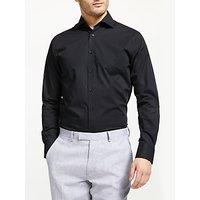 John Lewis & Partners Cotton Poplin Tailored Shirt