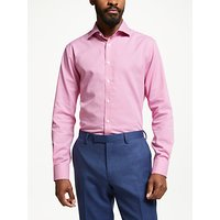John Lewis & Partners Non Iron Puppytooth Tailored Fit Shirt